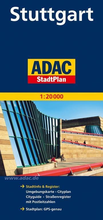 ADAC Stadtplan Stuttgart 1 : 20 000 als Buch