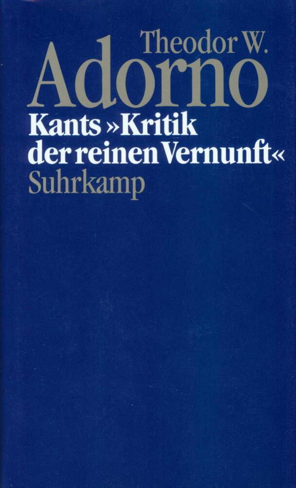 Kants ' Kritik der reinen Vernunft' (1959) als Buch