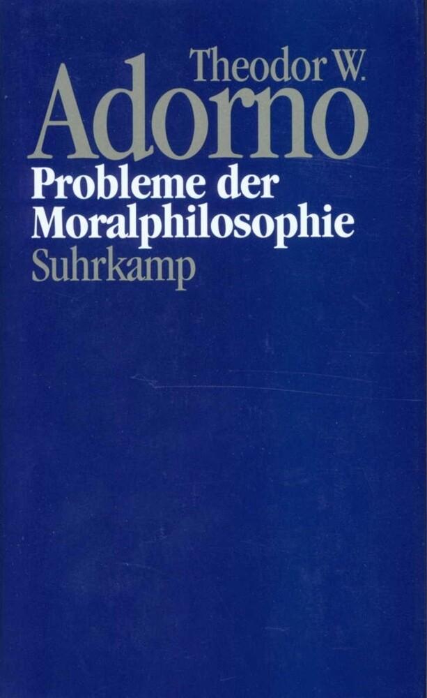 Probleme der Moralphilosophie (1963) als Buch