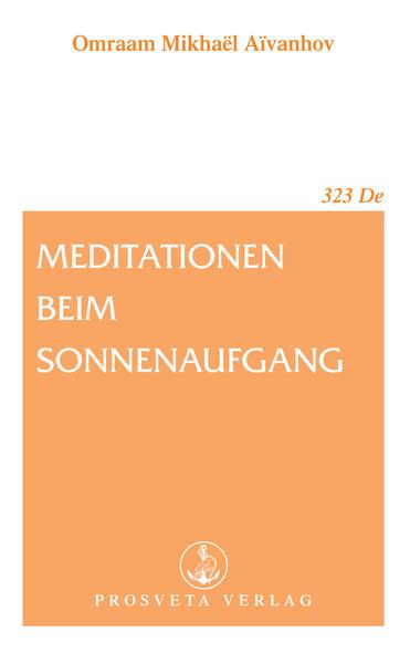 Meditation beim Sonnenaufgang als Buch