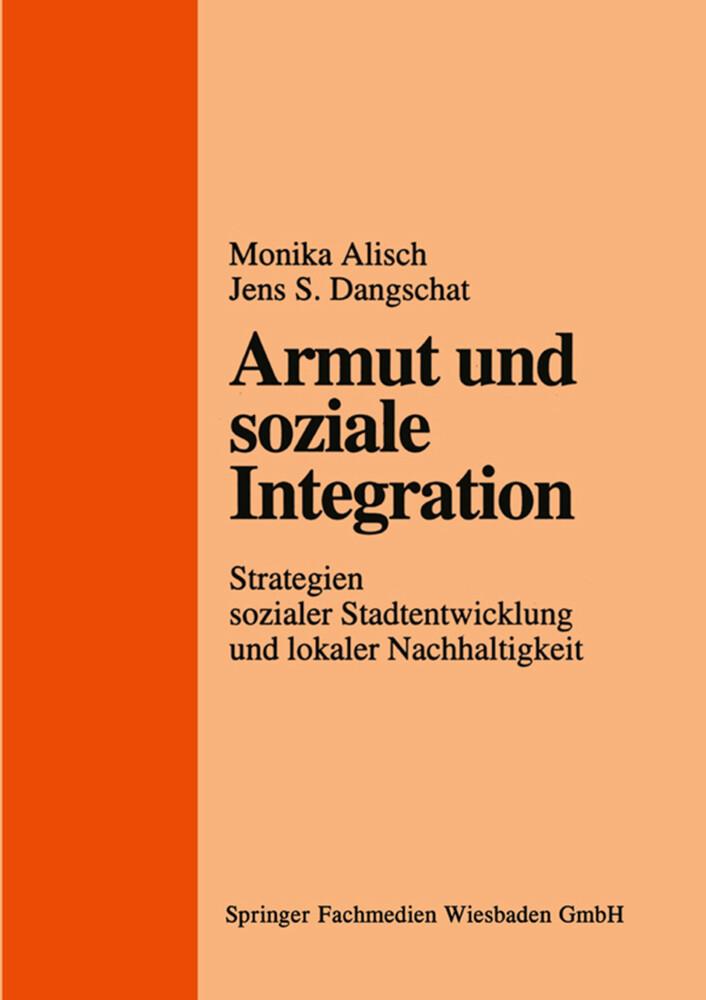 Armut und soziale Integration als Buch