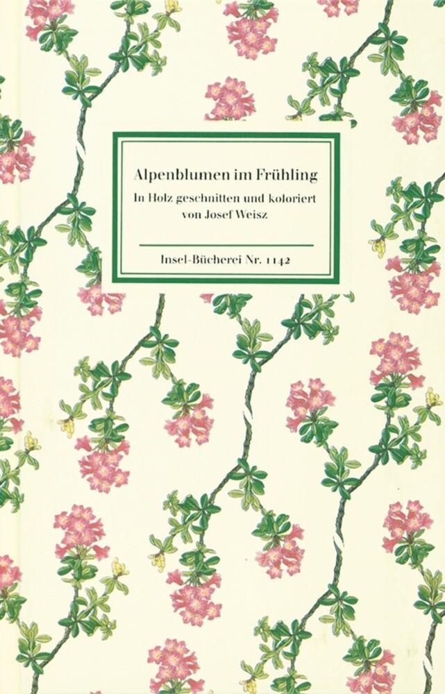 Alpenblumen im Frühling als Buch