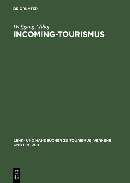 Incoming-Tourismus als Buch