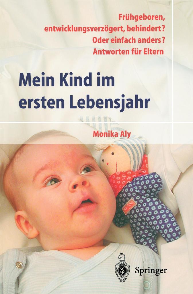 Mein Kind im ersten Lebensjahr als Buch