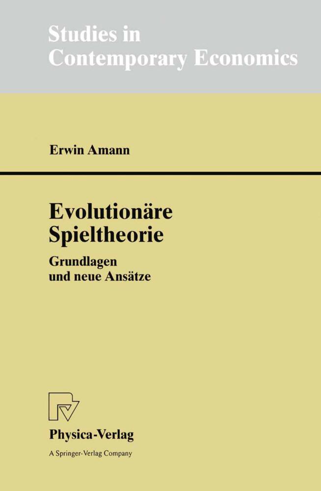 Evolutionäre Spieltheorie als Buch