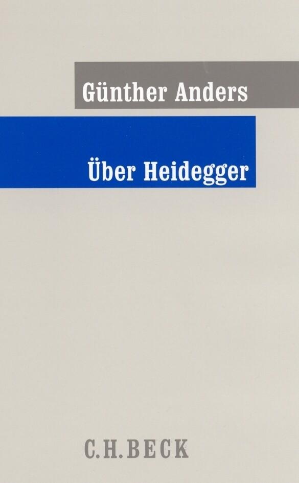 Über Heidegger als Buch