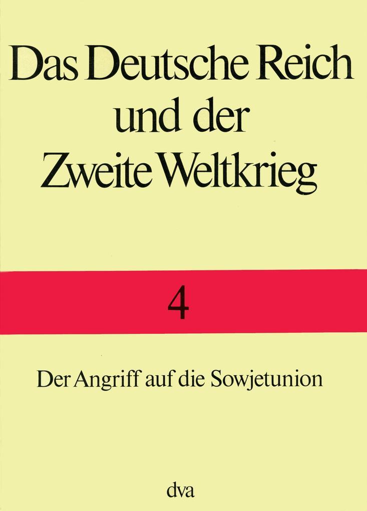 Das Deutsche Reich und der zweite Weltkrieg als Buch