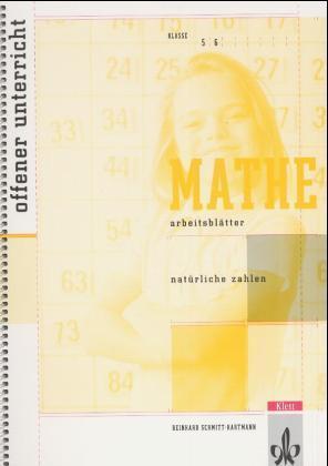 Arbeitsblätter Mathematik. Natürliche Zahlen als Buch