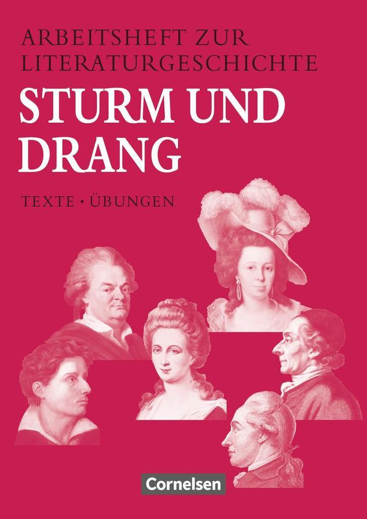 Arbeitshefte zur Literaturgeschichte. Sturm und Drang als Buch
