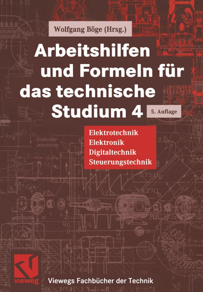 Arbeitshilfen und Formeln für das technische Studium als Buch