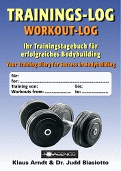 Trainings-Log als Buch