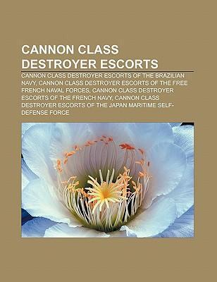 Cannon class destroyer escorts als Taschenbuch von