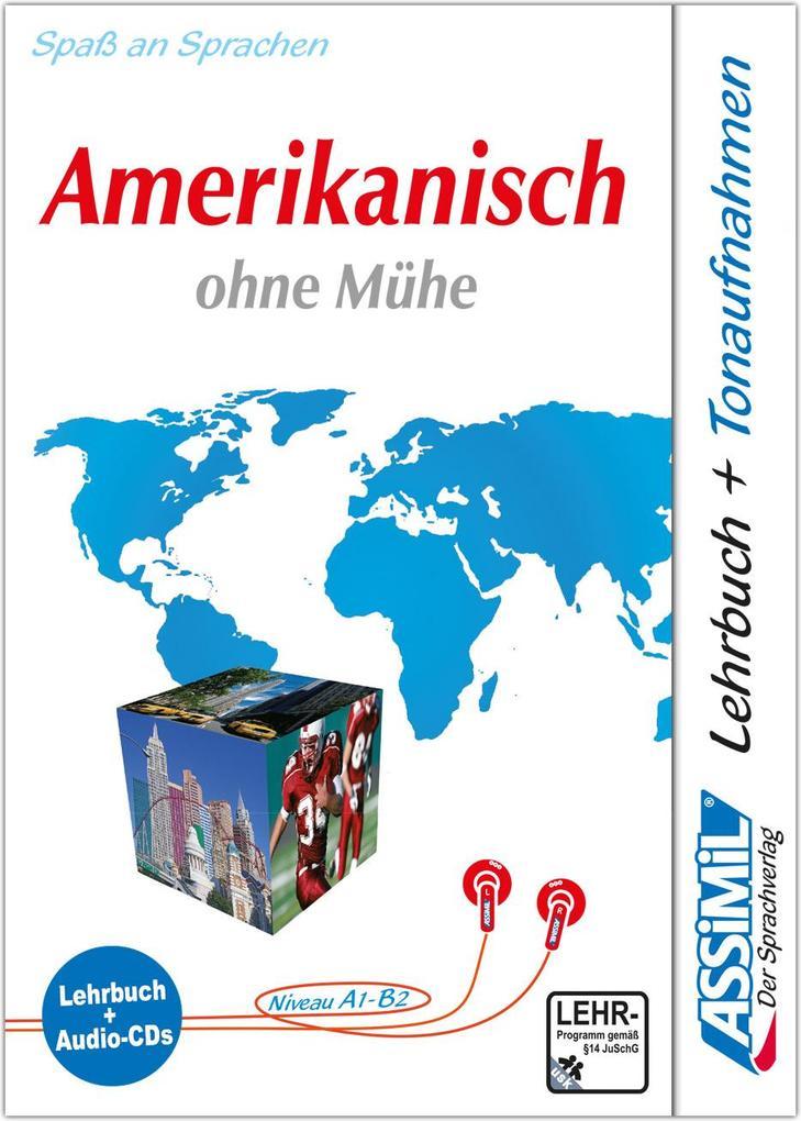 Assimil. Amerikanisch ohne Mühe. Multimedia-Classic. Lehrbuch und 4 Audio-CDs als Buch