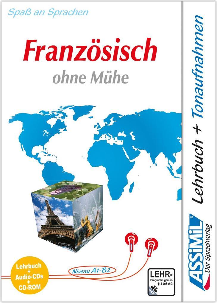 Assimil. Französisch ohne Mühe. Multimedia-PLUS. Lehrbuch + 4 Audio CDs + CD-ROM für Win 98 / ME / 2000 / XP als Software