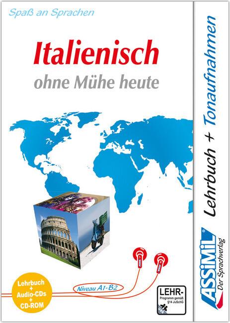 Assimil. Italienisch ohne Mühe heute. Multimedia-PLUS. Lehrbuch und 4 Audio CDs und CD-ROM für Win 98 / ME / 2000 / XP als Software