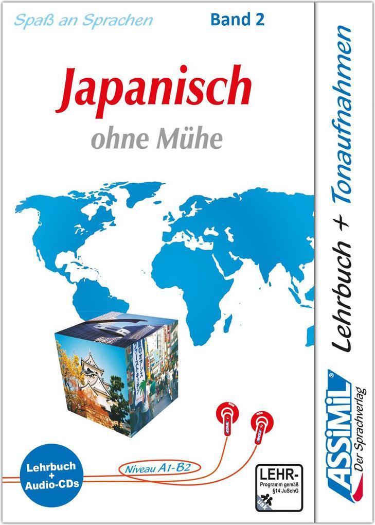 Assimil. Japanisch ohne Mühe 2. Multimedia-Classic. Lehrbuch und 4 Audio-CDs als Buch