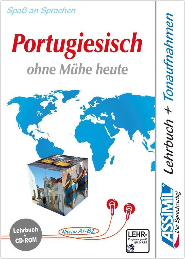 Assimil. Portugiesisch ohne Mühe heute. Multimedia-PC. Lehrbuch und CD-ROM für Win 98/ME/2000/XP als Software