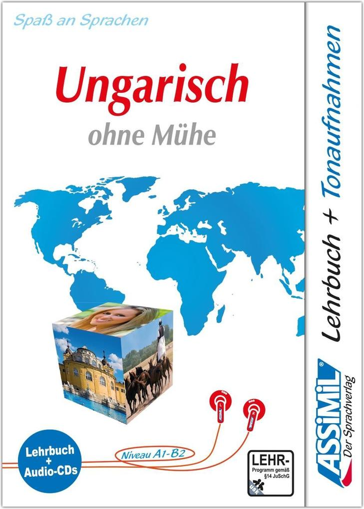 Assimil. Ungarisch ohne Mühe. Multimedia-Classic. Lehrbuch und 4 Audio-CDs als Buch