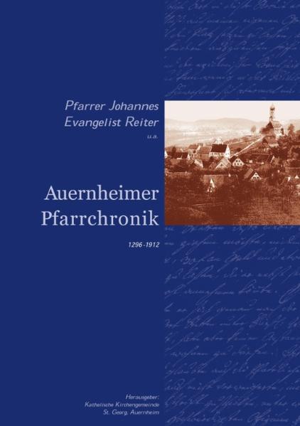 Auernheimer Pfarrchronik als Buch