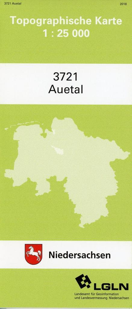 Auetal 1 : 25 000 als Buch