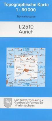 Aurich ( Ostfriesland) 1 : 50 000 als Buch