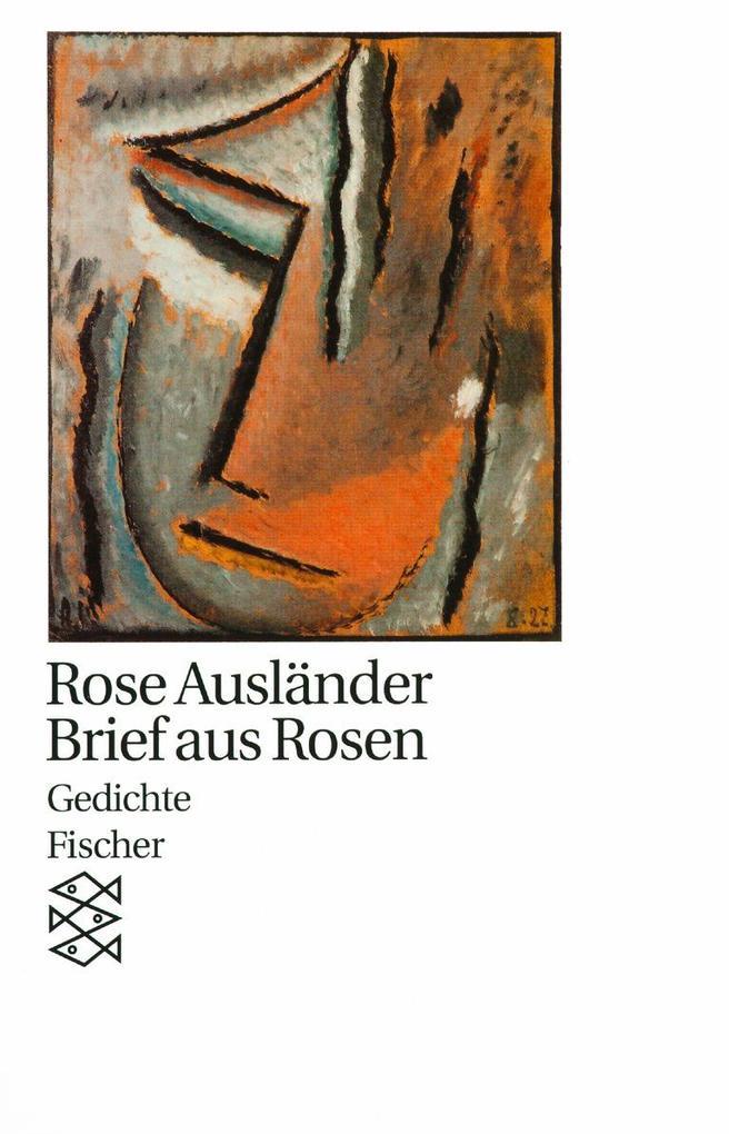 Brief aus Rosen als Taschenbuch