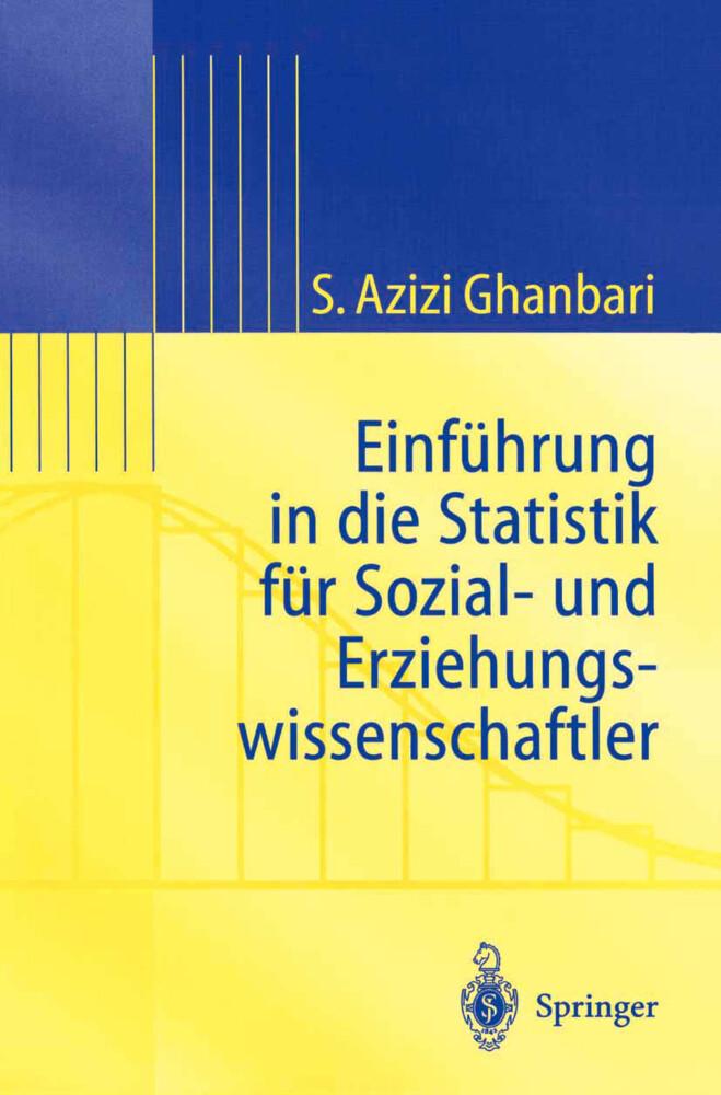 Einführung in Die Statistik für Sozial- Und Erziehungs-wissenschaftler als Buch