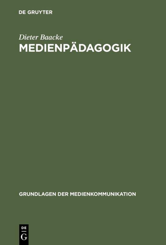 Medienpädagogik als Buch