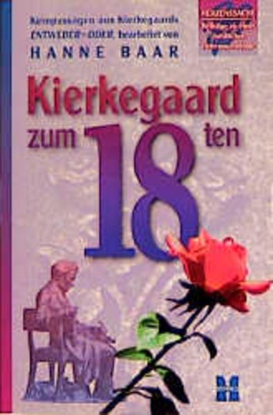 Kierkegaard zum 18ten als Buch