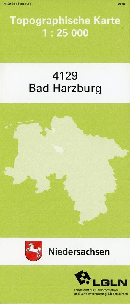 Bad Harzburg 1 : 25 000. (TK 4129/N) als Buch