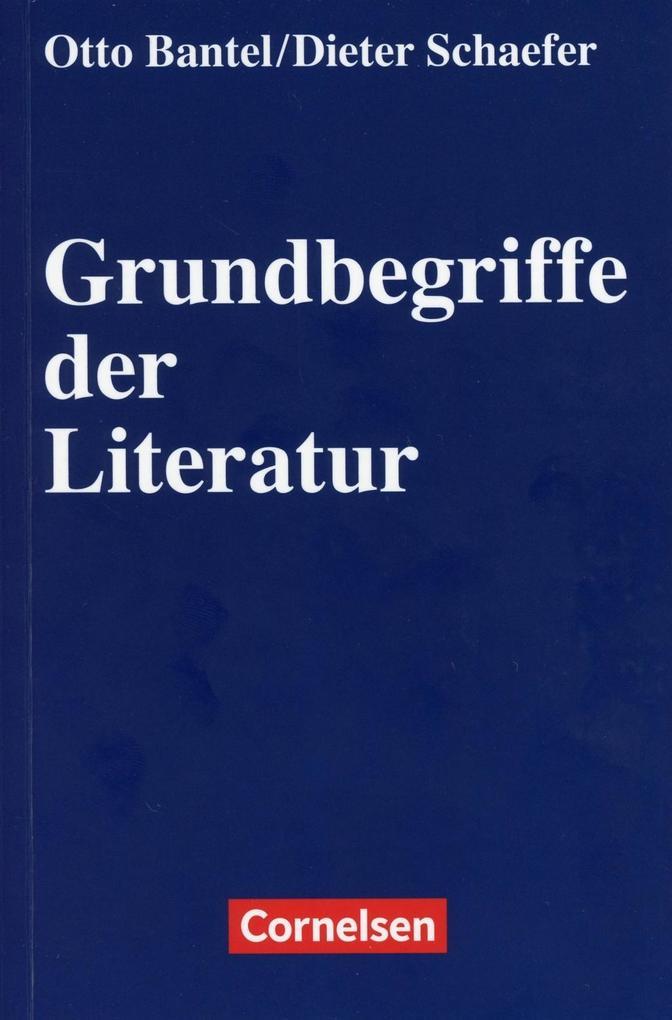 Grundbegriffe der Literatur als Buch