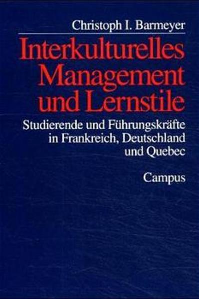 Interkulturelles Management und Lernstile als Buch