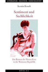 Sentiment und Sachlichkeit als Buch