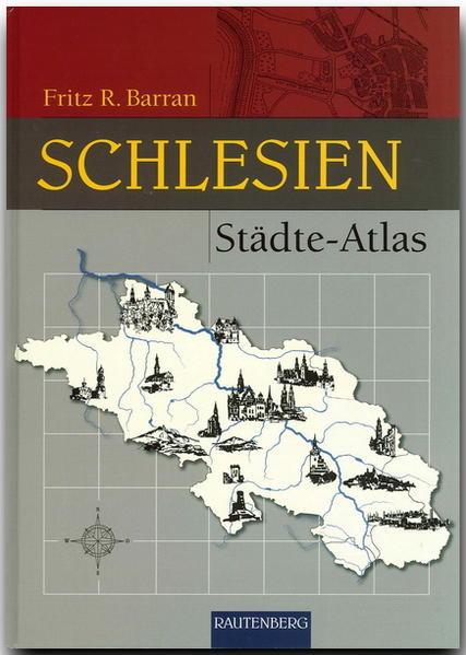 Städte-Atlas Schlesien als Buch
