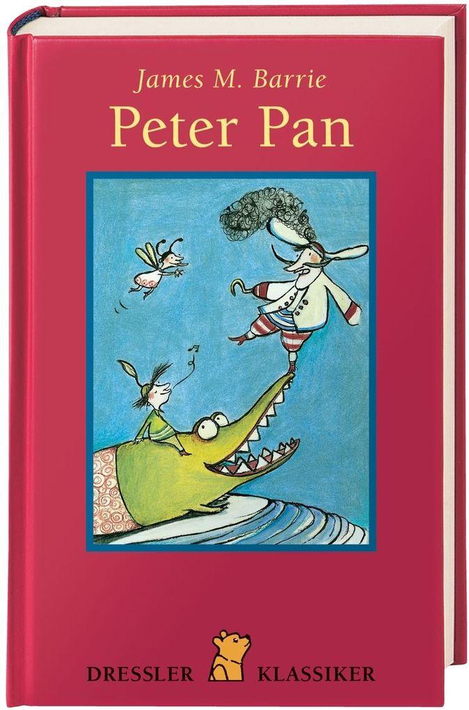 Peter Pan als Buch