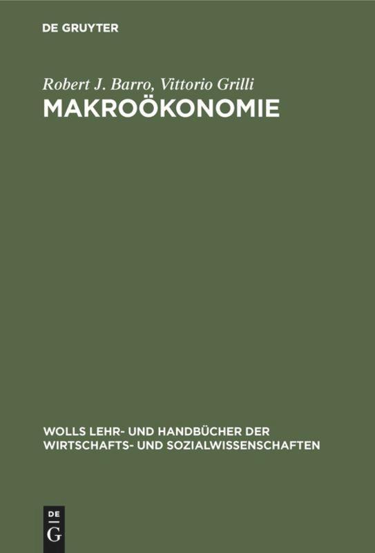 Makroökonomie als Buch