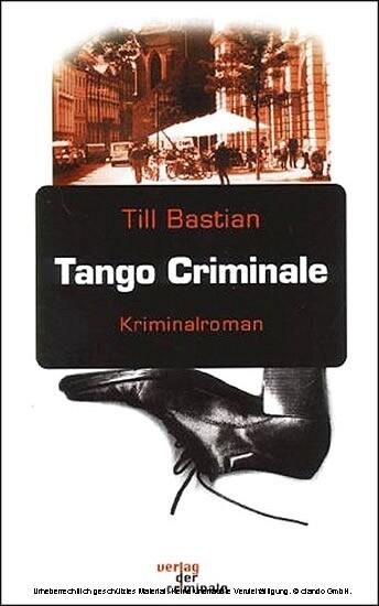 Tango Criminale als Buch