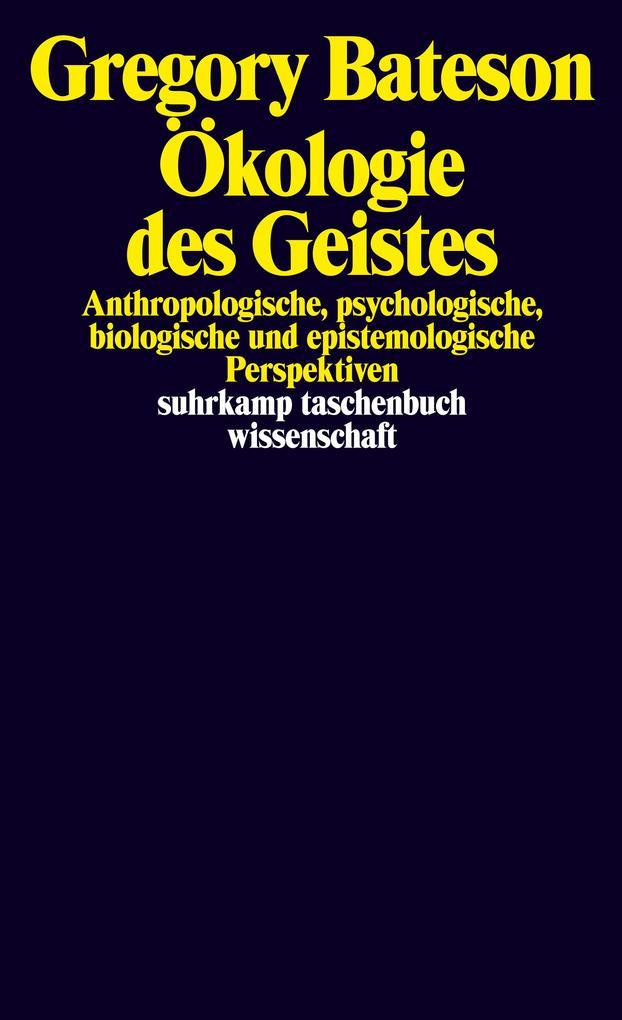 Ökologie des Geistes als Taschenbuch