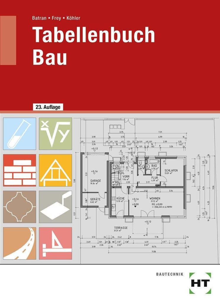 Tabellenbuch Bau als Buch