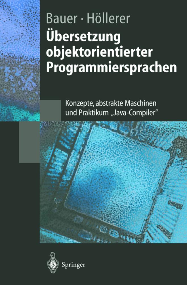 Übersetzung objektorientierter Programmiersprachen als Buch