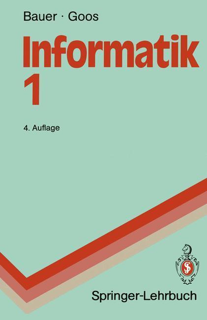 Informatik 1 als Buch