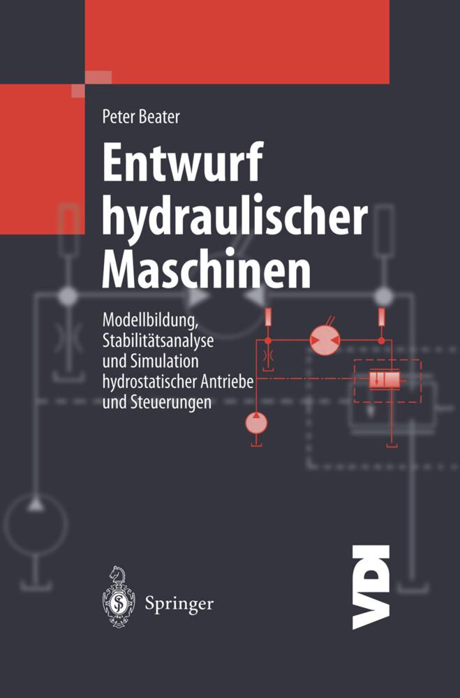 Entwurf hydraulischer Maschinen als Buch