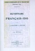 Dictionnaire Francais - Ido als Buch