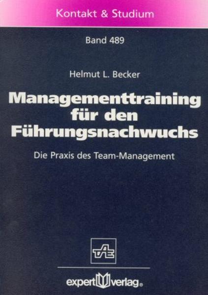 Managementtraining für den Führungsnachwuchs als Buch