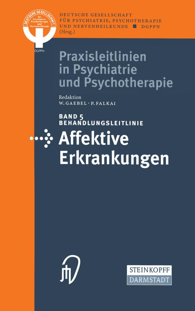 Behandlungsleitlinie Affektive Erkrankungen als Buch