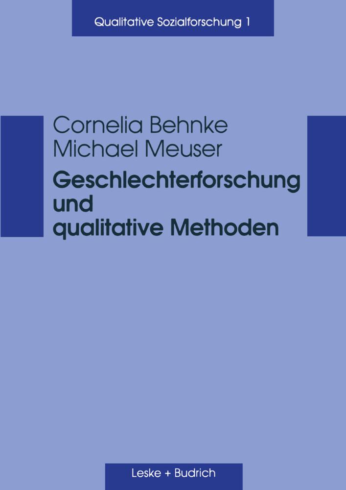 Geschlechterforschung und qualitative Methoden als Buch