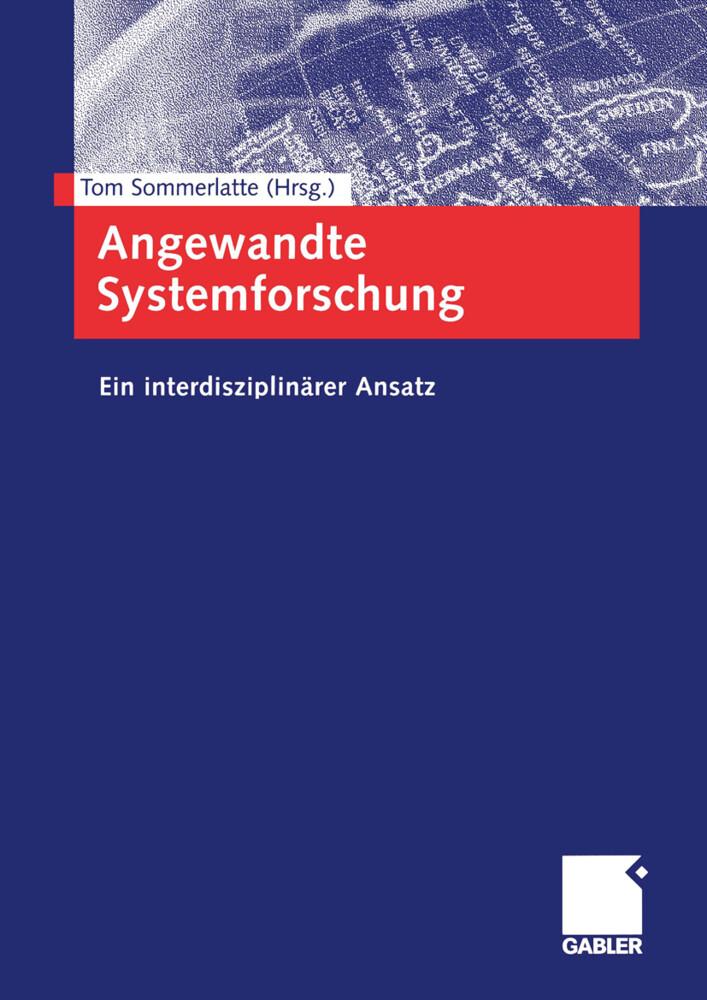 Angewandte Systemforschung als Buch