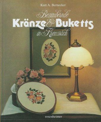 Bezaubernde Kränze und Buketts in Kreuzstich als Buch