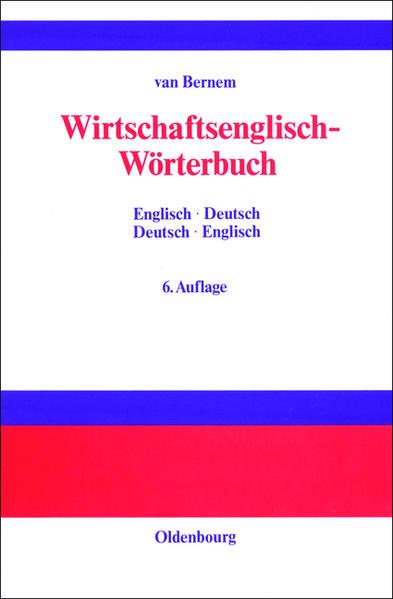Wirtschaftsenglisch-Wörterbuch als Buch