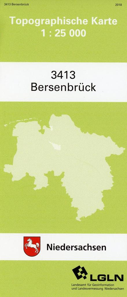 Bersenbrück 1 : 25 000. (TK 3413/N) als Buch